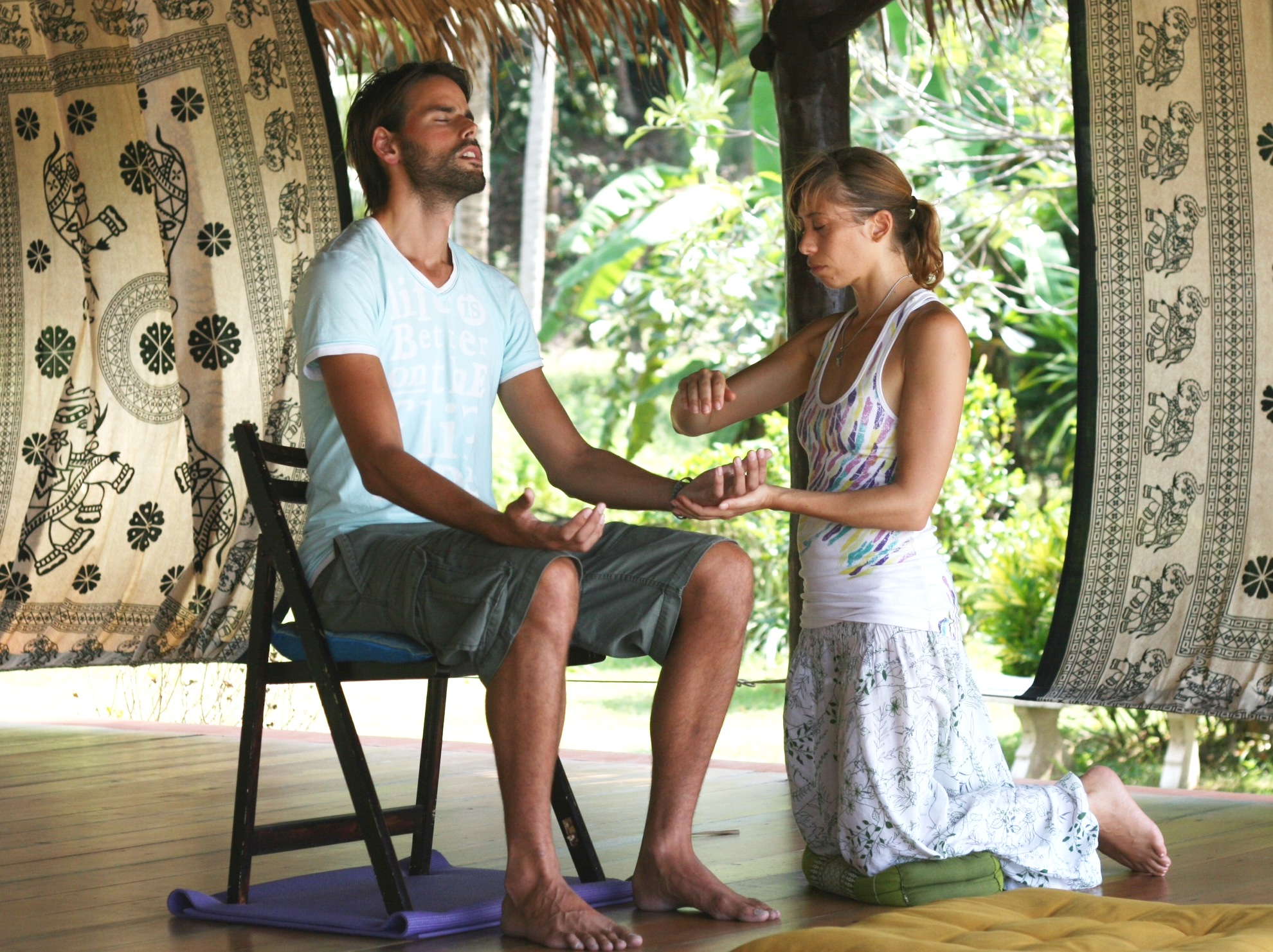 Reiki initiation thailand